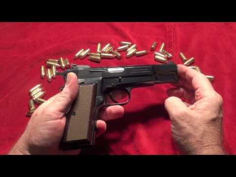 The Browning Hi-Power 9mm Pistol