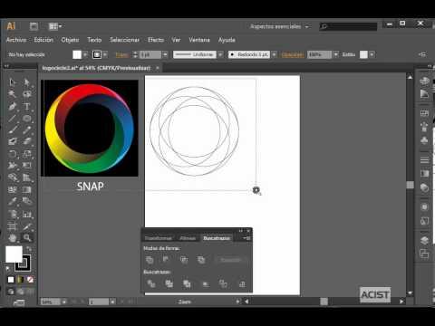 Curso virtual, a distancia de diseño gráfico con illustrator - cc - cs6, crear logo, logotipo