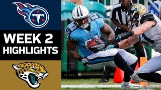 Titans vs. Jaguars | NFL Week 2 Game Highlights