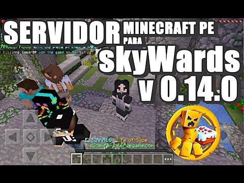 SERVIDOR para Minecraft 0.14.0 Build 1 ll SkyWars - Juegos del hambre ll .- ELSIRKA