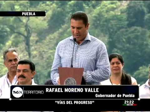 Peña Nieto inaugura tramo final de la carretera México – Tuxpan