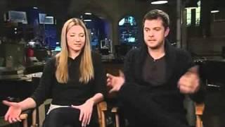 Anna Torv and Joshua Jackson of Fringe on Polivia and Altlivia Fox 5 Sango