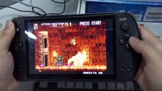 [01 Metal Slug 5-Mame Emulator Game Review/Gameplay-JXD S7800b] Video