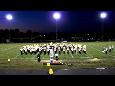LakeVille High School Marching Band - Late in the Evening
