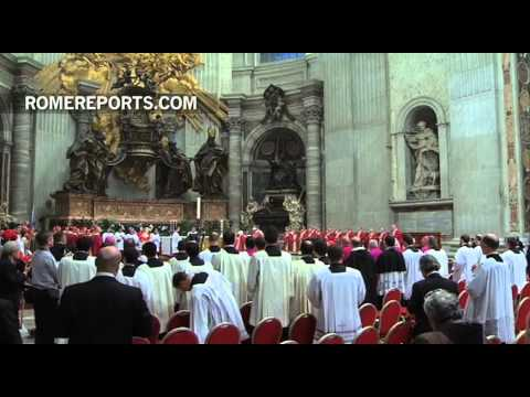 Pope Francis gives final farewell to late Cardinal Domenico Bertolucci