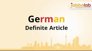 download lagu German Grammar - Definite Article Der, Die And Das gratis