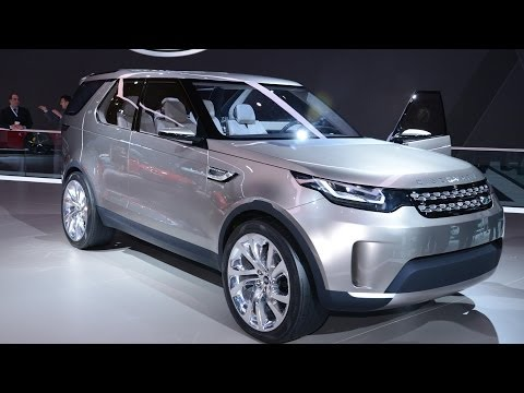Land Rover Discovery Vision Concept at New York Motor Show 2014