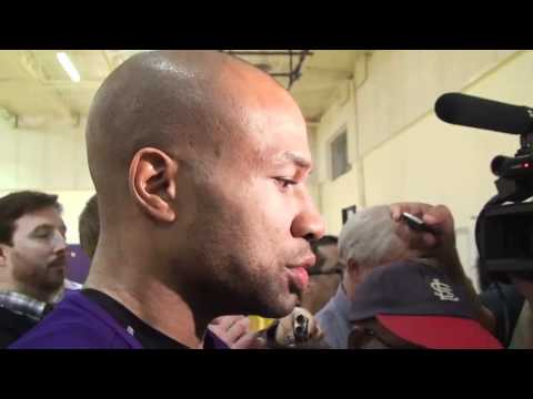 Lakers guard Derek Fisher on Lamar Odom winning 6th man