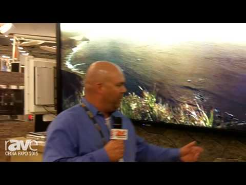 CEDIA 2015: SunBriteTV Shows Off Its SB-8418UHD Pro Series Direct Sunlight 4K Outdoor TV
