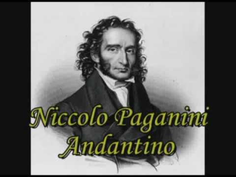 Паганини Никколо - Andantino In C