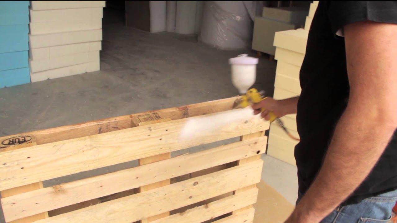 Cómo fabricar un sofá de palets usando medios caseros   #BC700F 1920x1080