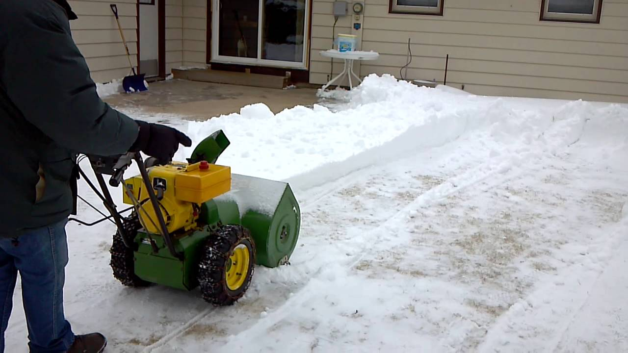 John Deere Snow Blowers