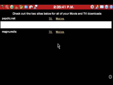 How to get tv shows on PSP for FREE!!! In this video i show you how to get ...