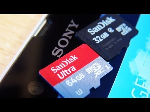SONY XPERIA Z 64GB micro SD Card?