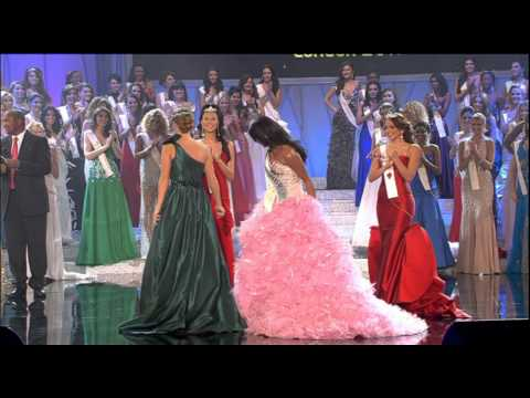 Miss World 2011 Announcing Of Top Three Contestants video