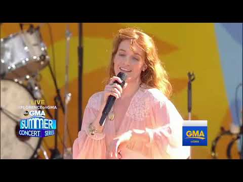 Florence + the Machine - Dog Days Are Over (Live at GMA - Summer Concert Series 2018)