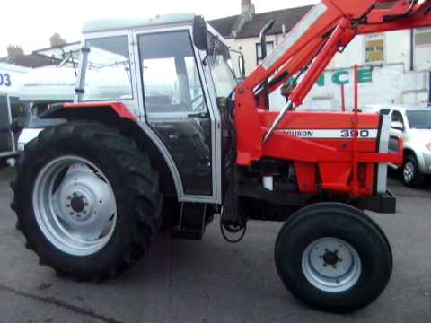 Massey Ferguson MF 390 Tractor and loader