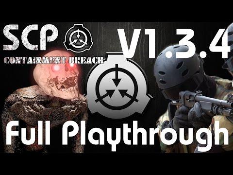 SCP Containment Breach V1.3.4 Legit Playthrough Stream Gate B