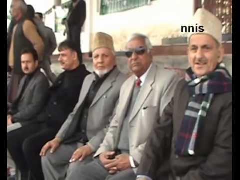Pdp's Mufti Sayeed Files  Nomination From Anantnag