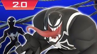 Venom Vs. Alien Symbiote Spider-Man - Disney Infinity 2.0: Marvel Super Heroes