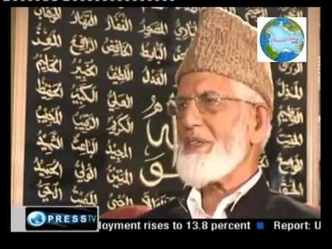 Free Kashmir - Syed Ali Gilani on Indian Occupation - 1