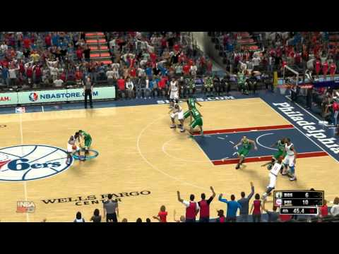Boston Celtics @ Philadelphia 76ers 109-101 | 03-05-2013 | Wells Fargo Center | NBA 2k13