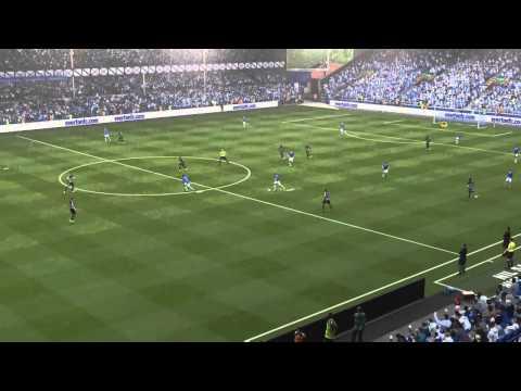 FIFA 15 Leon Osman , Everton vs Barcelona