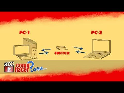 Cómo Conectar Ordenadores a una Red Local