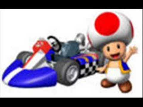 mario kart wii music:toad factory