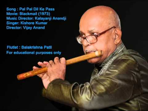 Pal Pal Dil Ke Paas(kishore Kumar) Instrumental Cover On Flute By Balakrishna Patil video