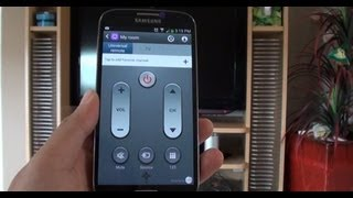 How to Setup Your Samsung Galaxy S4 as a Universal Remote Control (TV, DVD, ETC)