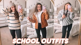 what i wore to school this week! (school outfit ideas)