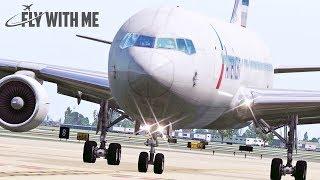X-Plane 11 - VMAX Boeing 767 to Dallas