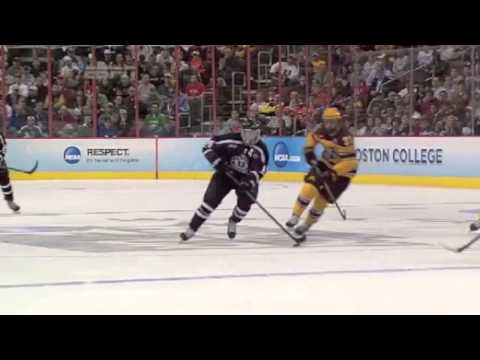 Shayne Gostisbehere Frozen Four final highlights