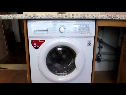 Тестируем стиральную машину lg f 10b9ld