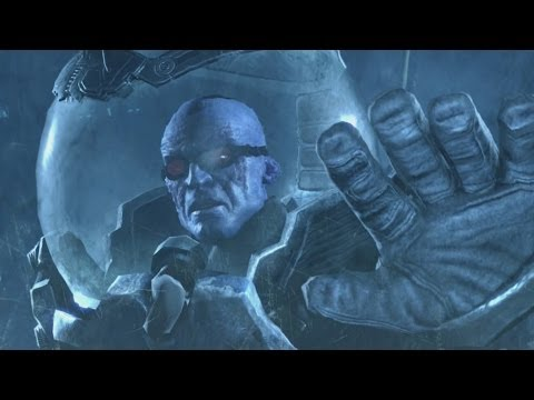 Batman Arkham Origins Cold Cold Heart Mr Freeze Boss Fight