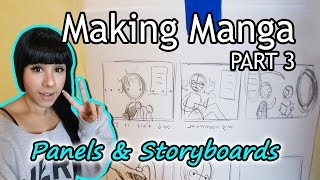 ?How to Make Manga (PART 3)? Panels & Storyboards?Rough Layouts/Sketches