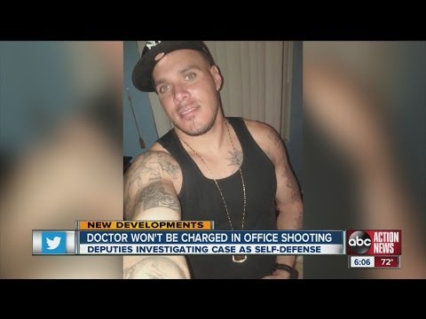 Pasco County chiropractor won't face charges for shooting