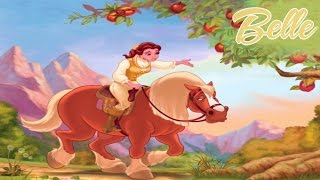 Disney Princess Belle Beauty and the Beast ♡ Find A Friend for Philipe Funny Storybook For Kids