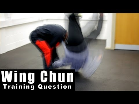 wing chun techniques - how to deal with takedown Q42 Image 1