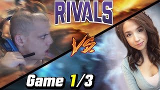 Twitch Rivals League of Legends Day 2 Game 1 [ Voyboy, Tyler1, Pokimane ]