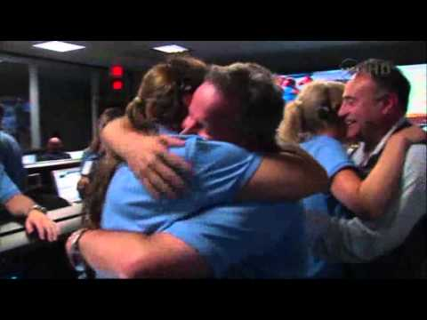 Raw Video: NASA Celebrates Mars Rover Landing