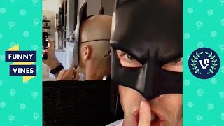 TRY NOT TO LAUGH - Funniest BATDAD Vine Compilation 2018 | Funny V2 Vines