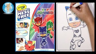 Crayola Color Wonder Coloring Book PJ Masks Family Toy Report