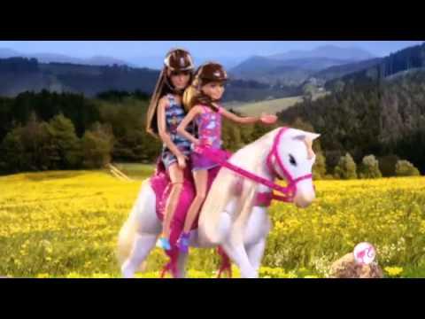 barbie reiten