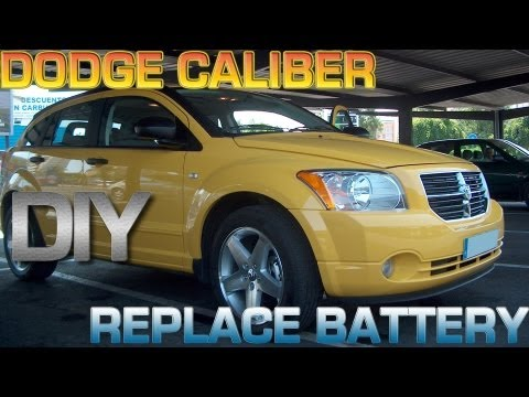 DIY Dodge Caliber Replace Battery