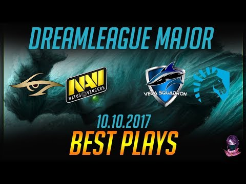 DreamLeague S8 Major - BEST PLAYS - 10.10.2017 Highlights Dota 2 by Time 2 Dota #dota2