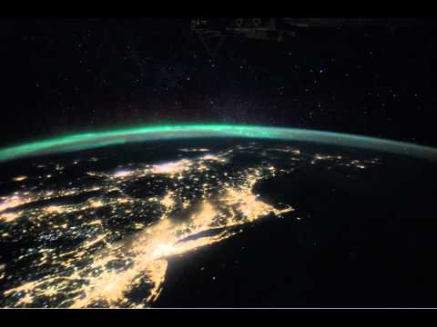 Iss View Up The East Coast Of North America Youtube