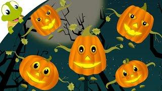 Five Little Pumpkins Nursery Rhyme for Halloween