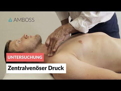 Klinische Bestimmung Des Zentralvenösen Drucks (ZVD) - Körperliche Untersuchung - AMBOSS Video
